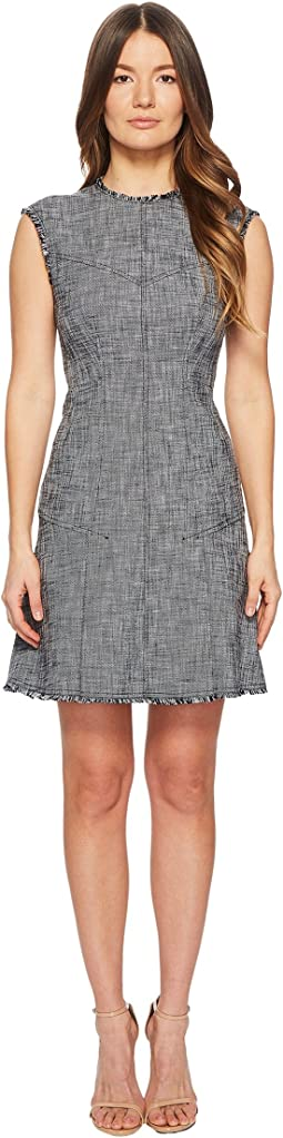 Rebecca Taylor - Sleeveless Slub Suiting Dress