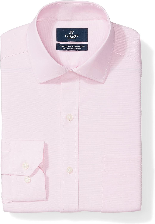 Over item handling ☆ Buttoned Arlington Mall Down Men's Tailored Fit Sup Stretch Poplin Shirt Dress