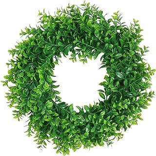 artificial wreaths for front door