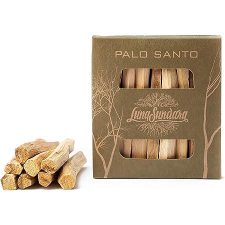 Luna Sundara Palo Santo Smudging Sticks High Resin Palo Santo from Peru - Wild Harvested Smudging Sticks