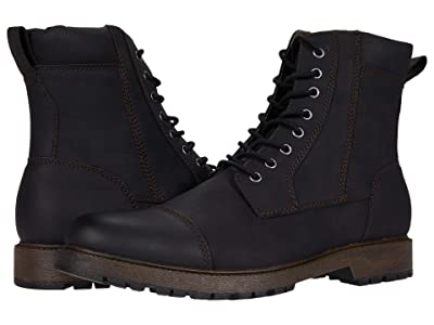 Dockers Stratton (Black Distressed Synthetic) Men