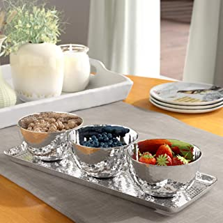 condiment trays stainless steel