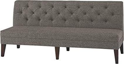 Signature Design By Ashley - Tripton Extra Large Upholstered Dining Room Bench - Casual Style - Medium Brown