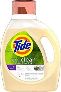 Tide PurClean Liquid Laundry Detergent for Regular and HE Washers, Honey Lavender Scent, 75 oz (Packaging May Vary)