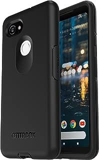 OtterBox SYMMETRY SERIES Case for Google Pixel 2 XL - Retail Packaging - BLACK (Renewed)