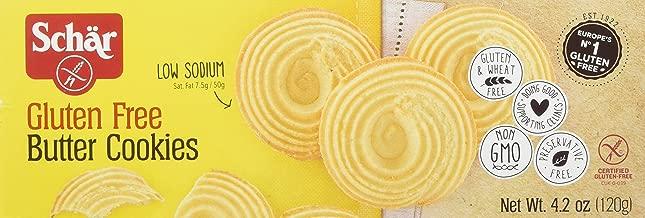 Schar Gluten Free Butter Cookies, 6 Count