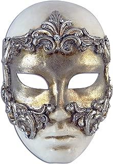 Venetian Full Face Mask Volto Baroque for Women