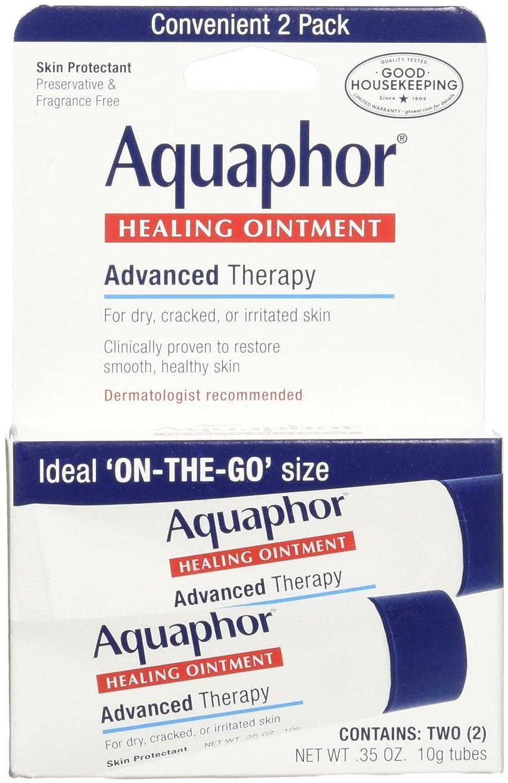 アクセント重要な結び目海外直送肘 Aquaphor Healing Ointment 2 Pack, 2/3.5 oz
