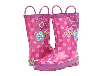 Western Chief Kids Flower Cutie Rain Boot (Toddler/Little Kid/Big Kid) (Pink) Girls Shoes