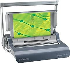 fellowes quasar manual wire binding machine