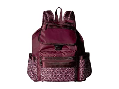 Jambu Drawstring Backpack (Wine) Backpack Bags