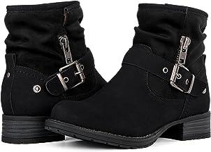 GLOBALWIN Women's Winter Fasion Boots