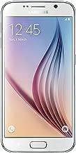 Samsung Galaxy S6 (SM-G920V) - 32GB Verizon + GSM Smartphone - White Pearl (Renewed)