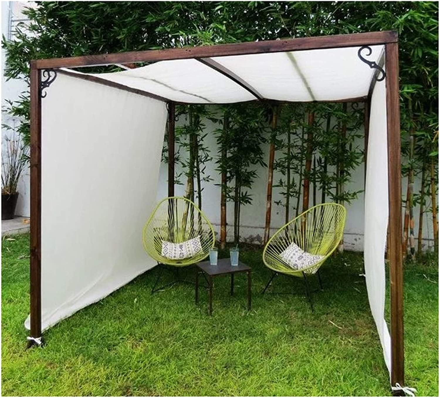 Today's only LSXIAO Some reservation Sun Shade Sail Privacy Fence Heavy Duty Breathab Screen