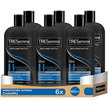 TRESemmé Hidratación Intensa Champú 900ml- Pack de 6: Amazon.es ...