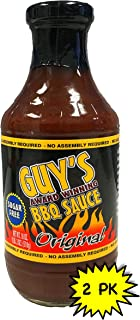 Guy's Award Winning Sugar Free BBQ Sauce - 2 Pack - Original