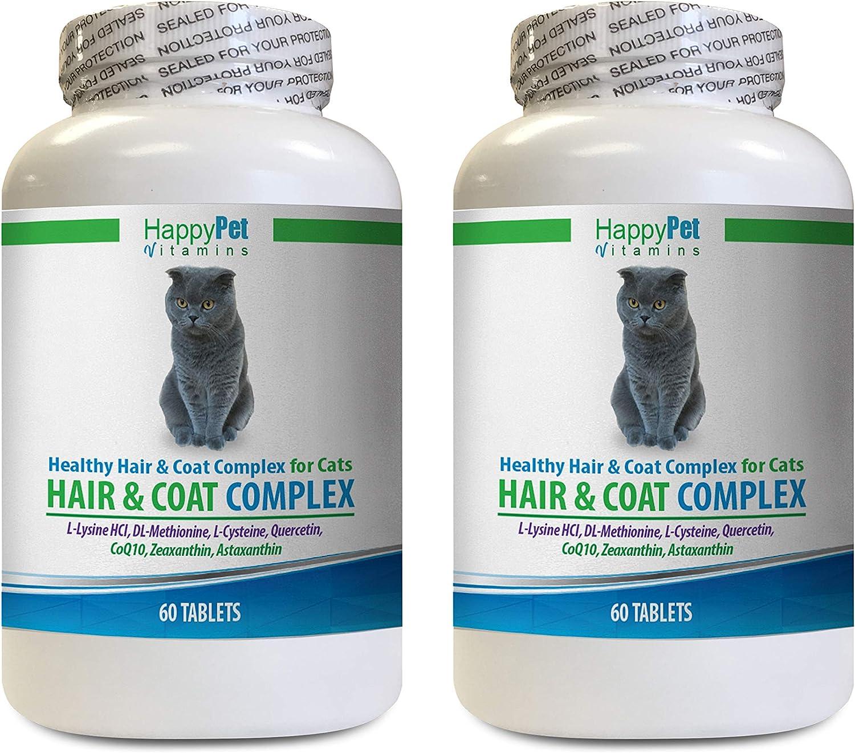 HAPPY PET VITAMINS LLC cat Skin Care and Natural Hair - Max security 69% OFF Coa Cats