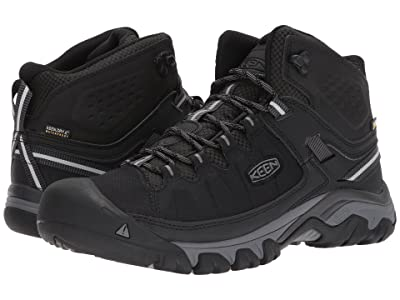 Keen Targhee Exp Mid WP (Black/Steel Grey) Men