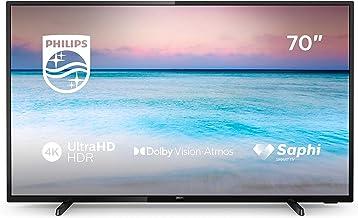 "Philips 70PUS6504/12 178cm 70"" 4K UHD DVB-T2HD/C/S2 1000 PPI Smart TV"