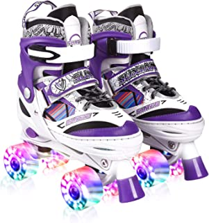 purple skates with light up wheels