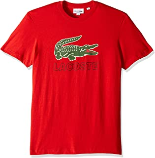 Lacoste Men's S/S Graphic Jersey Croc Regular Fit T-Shirt