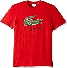 Lacoste Men's S/S Graphic Jersey Croc Regular Fit T-Shirt