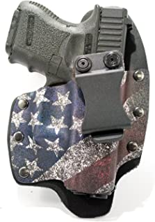 Infused Kydex USA: Slanted Flag IWB Hybrid Concealed Carry Holsters for More Than 200 Different Handguns. Left & Right Versions Available.