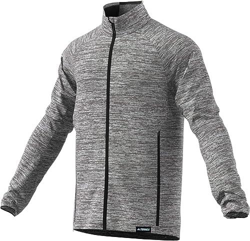 Adidas Knit Fleece Sweatshirt Homme, MultiCouleure (brgrin), XL