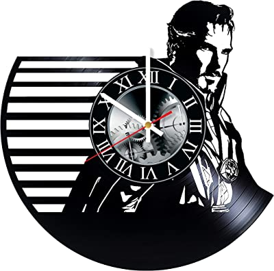 Doctor Strange Vinyl Record Wall Clock - Get Unique Bedroom livingroom Wall Decor - Gift Ideas