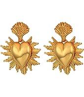 Oscar de la Renta - Sacred Heart C Earrings