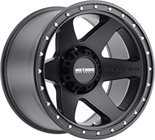 Method Race Wheels MR610 Con 6 BLACK Wheel with Matte Street Loc (0 x 10. inches /8 x 165 mm, -24 mm Offset)