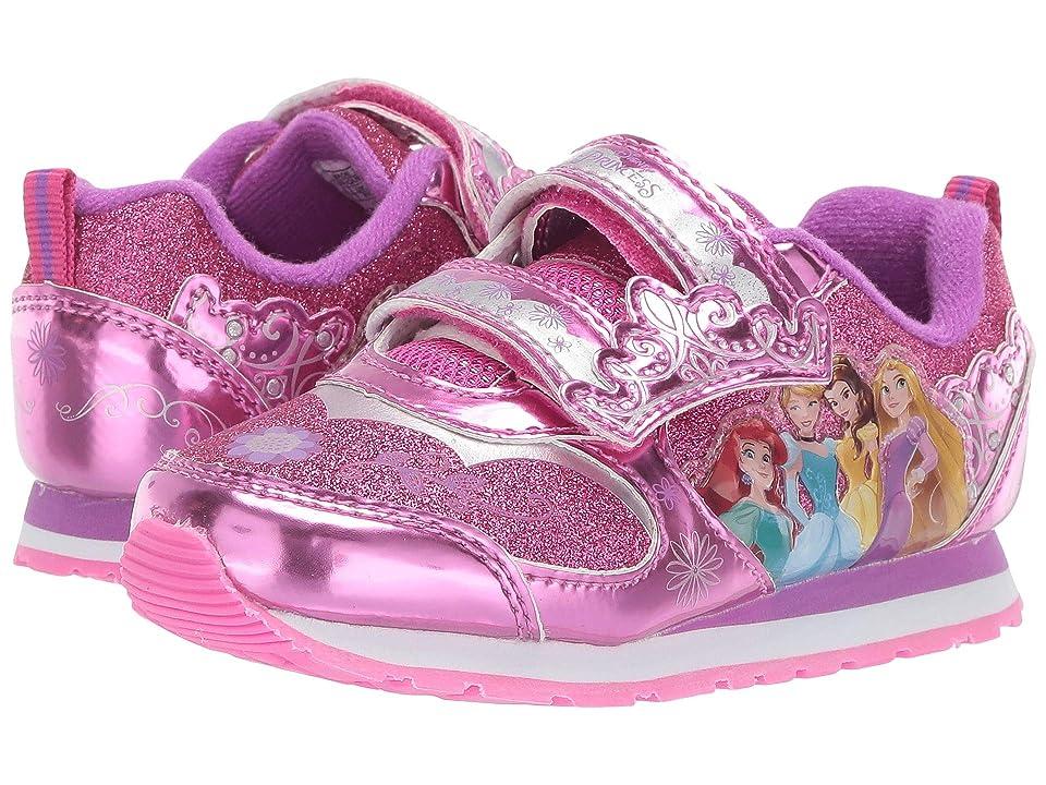 Josmo Kids Princess Sneaker (Toddler/Little Kid) (Fuchsia) Girls Shoes