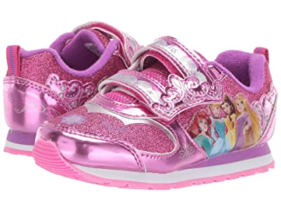 Josmo Kids Princess Sneaker (Toddler/Little Kid) (Fuchsia) Girls Shoes