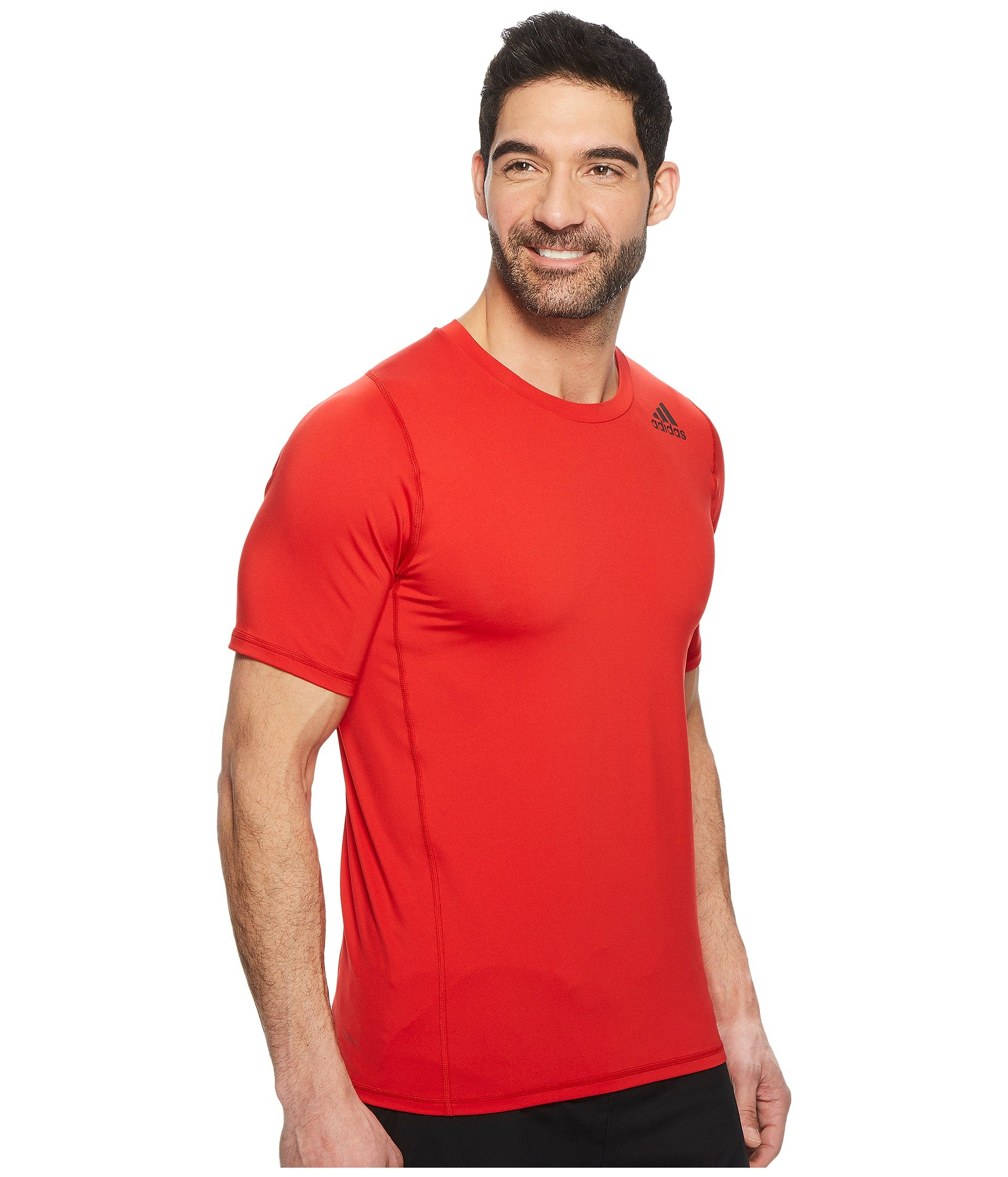 Sport Scarlet Tee Fitted Adidas Alphaskin Short Sleeve YxR5wq