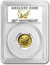2016 gold mercury dime sp70