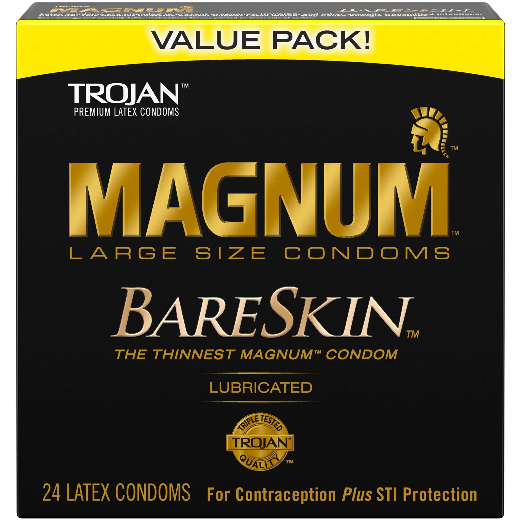 MAGNUM Bare Skin Condoms 24ct
