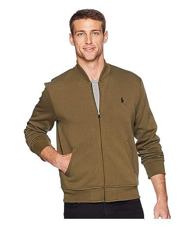 Polo Ralph Lauren Double Knit Tech Bomber Jacket (Defender Green) Men