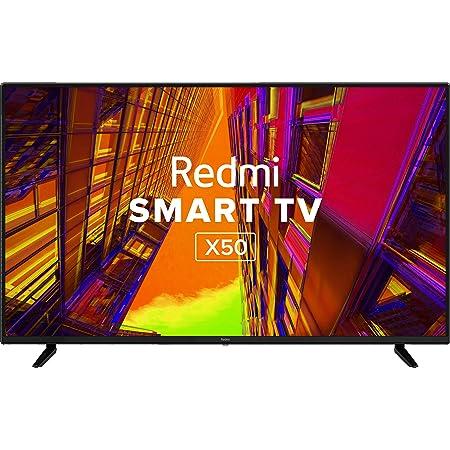 Redmi 126 cm (50 inches) 4K Ultra HD Android Smart LED TV X50|L50M6-RA (Black) (2021 Model)