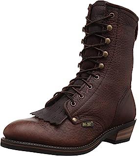 AdTec Men's Premium Leather, Oil Resistant Cowboy Boot Packer, Chestnut, 11 Wide