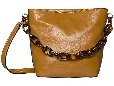 Vince Camuto Ivy Bucket (Creamy Caram) Handbags