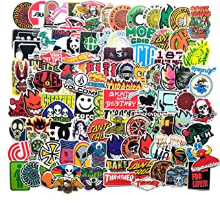 100 Pcs Fashion Waterproof Stickers,Vinyl Decals for Motorcycle,Bicycle,Skateboard,Luggage