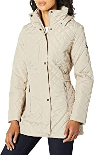 Women's Mid-Weight Diamond Quilted Jacket (Standard and Plus)