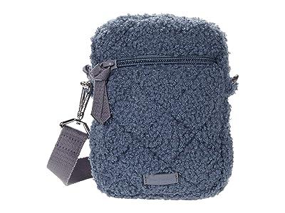 Vera Bradley RFID Convertible Small Crossbody (Thunder Blue) Handbags