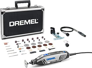Dremel 4250 Herramienta rotativa de 175W, kit multiherramienta Amazon Exclusive con 3 complementos y 45 accesorios, motor...