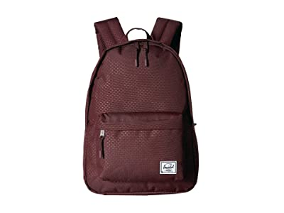 Herschel Supply Co. Classic Mid-Volume (Plum Dot Check) Backpack Bags