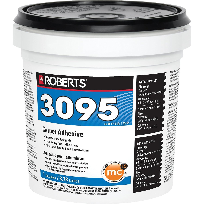 Roberts 3095-1 Carpet Adhesive, 1 gal, Beige