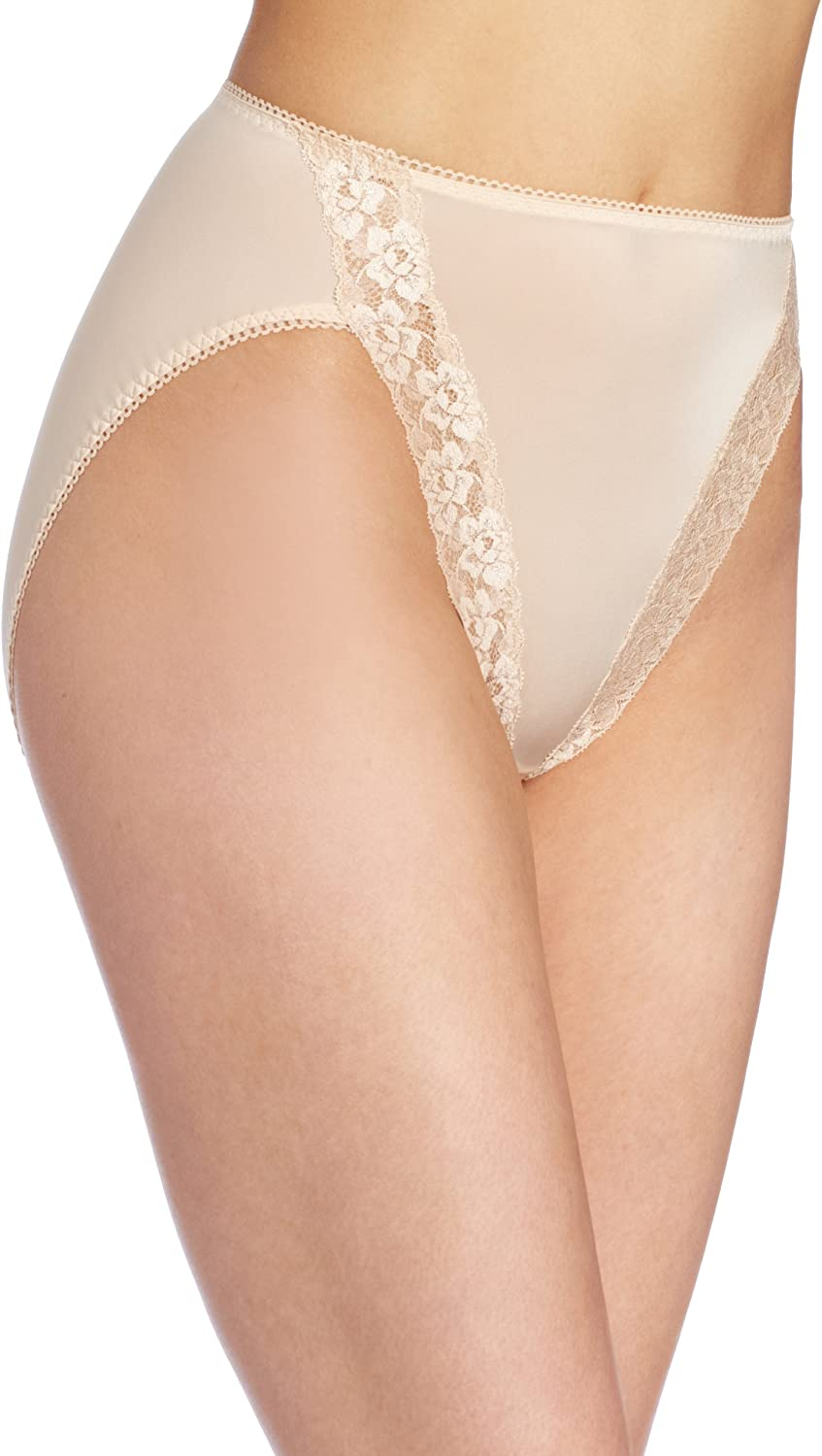 Wacoal Desire Lace Trimmed Briefs UK Size Small g 10  116005 Chamoix