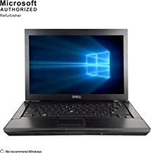 Dell Latitude E6410 Laptop, Intel Core I7-620M Upto 3.3GHz, 8G DDR3, 512G SSD, WiFi, DVD, 14 Inch Screen, VGA, DP, Windows 10 64 Bit-Multi-Language Support English/Spanish/French(CI7)(Renewed)