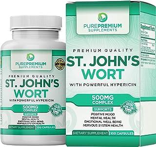 Sponsored Ad - Premium St Johns Wort Capsules (Non-GMO & Gluten-Free)