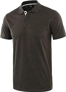 Estepoba Men's Casual Athletic Regular Fit Short Sleeve Jersey Polo Sport Shirt
